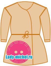 Выкройки халата для детей