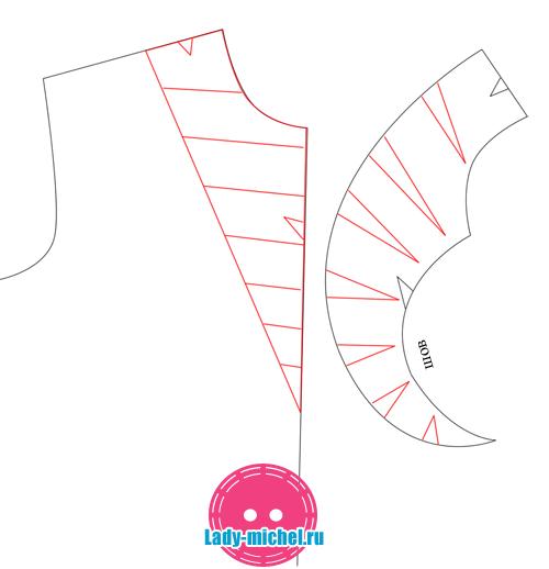Выкройка штанов - Кройка и шитье