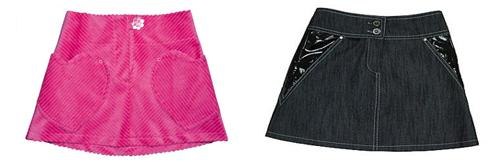 Выкройки юбки для девочки-подростка