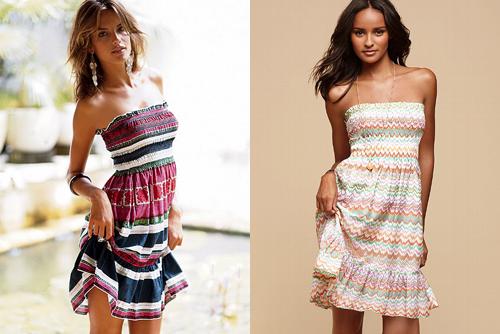Сшить быстро и просто пляжное платье