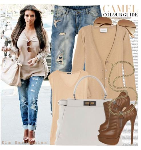 Мода джинсы 2012