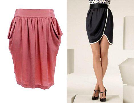 Выкройка юбки тюльпана видео