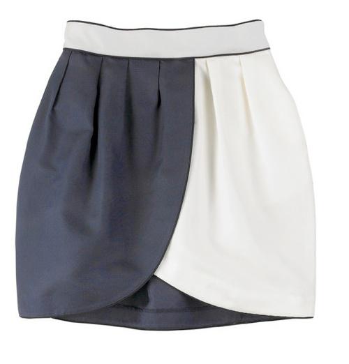 Выкройка юбки тюльпан детской