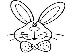 Кролик – слюнявчик своими руками