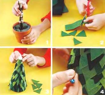 Рисунки Открытка елка иЖелобок своими руками