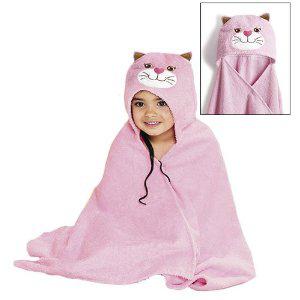 Полотенце для новорожденного с капюшоном своими руками