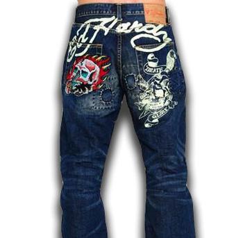 Для вышивки на джинсах нам нужны нитки