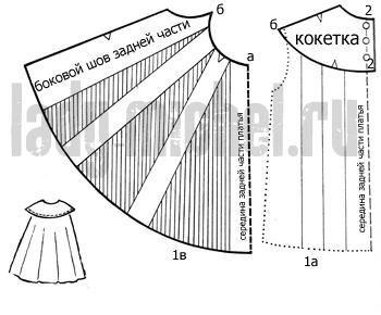 Lt b gt платье расклешенное lt b gt от кокетки
