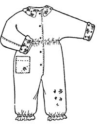 Детский комбинезон можно утеплить, добавив синтепон или любую другую теплую подкладку (тинсулейт, холлофайбер...