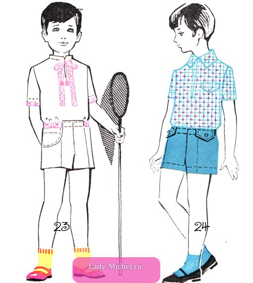 Рисуем мальчика в одежде