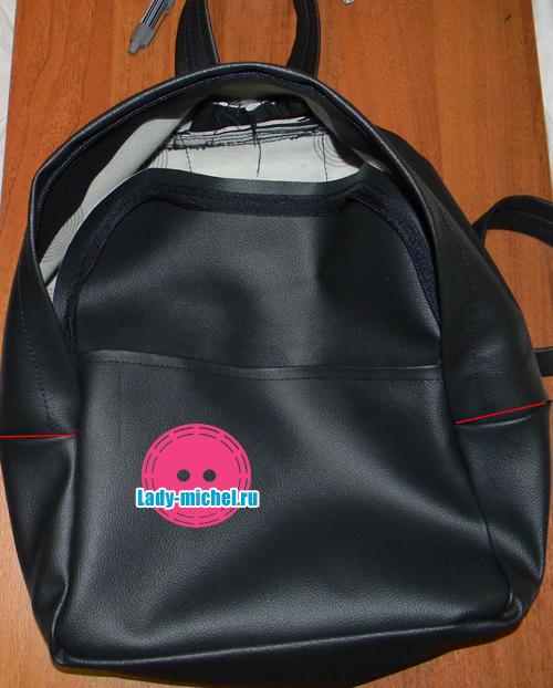Сшить городской рюкзак