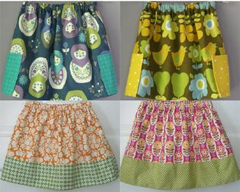 Детских юбок выкройка простая